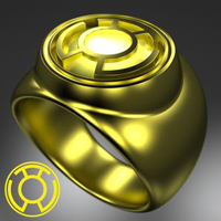 Sinestro Corps Ring